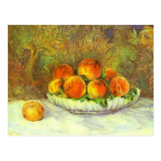 Still Life with Peaches Postcards