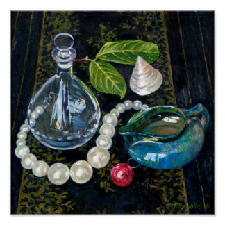 Still Life with Pearls Poster