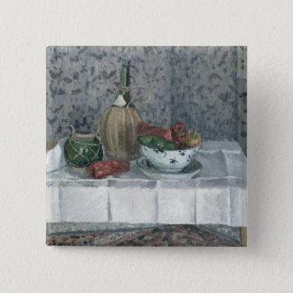 Still Life with Peppers, 1899 (oil on canvas) Button