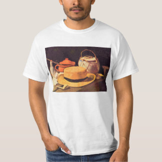 Still Life with Pipe and Straw Hat by Van Gogh T-Shirt