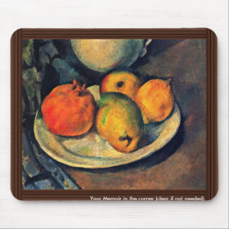 Still Life With Pomegranate And Pears Mouse Pad