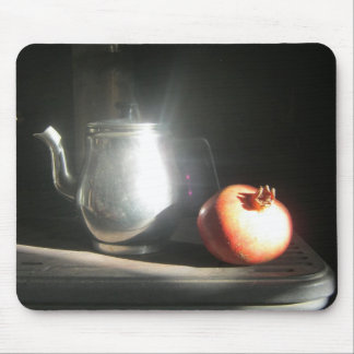 Still Life With Pomegranate and Tea Pot in Sunshin Mouse Pad