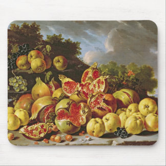 Still Life with pomegranates Mouse Pad