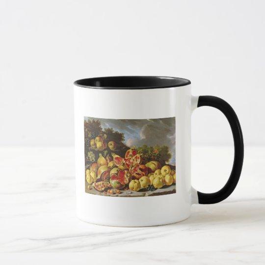 Still Life with pomegranates Mug