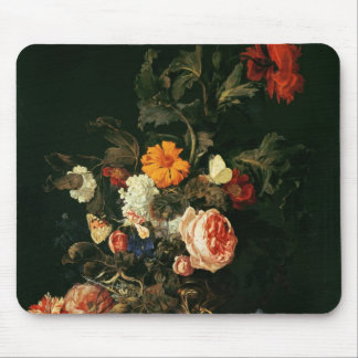 Still Life with Poppies and Roses Mouse Pad