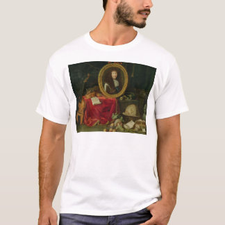 Still life with portrait of King Louis T-Shirt