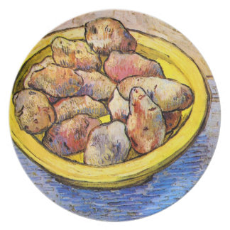 Still Life with Potatoes by Van Gogh Party Plates