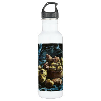 Still Life with Potatoes in a Bowl Van Gogh Vincen 24oz Water Bottle