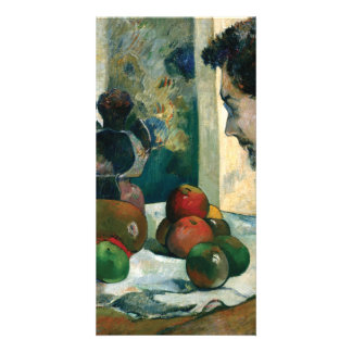Still Life with Profile of Laval by Paul Gauguin Card