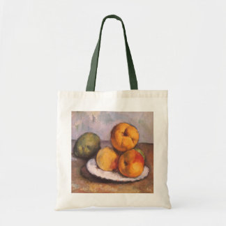 Still Life with Quince, Apples, Pears by Cezanne Bag