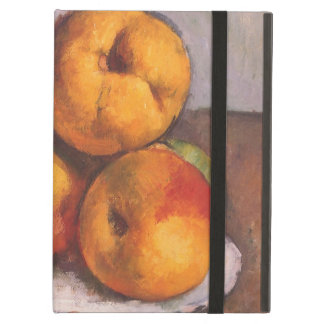 Still Life with Quince, Apples, Pears by Cezanne iPad Air Covers