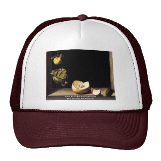 Still Life With Quince Cabbage And Cucumber Melon Trucker Hat