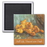 Still Life with Quince Pears by Vincent van Gogh 2 Inch Square Magnet