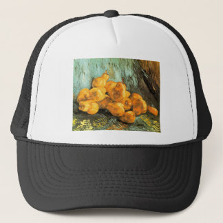 Still Life with Quinces by Vincent Willem van Gogh Trucker Hat
