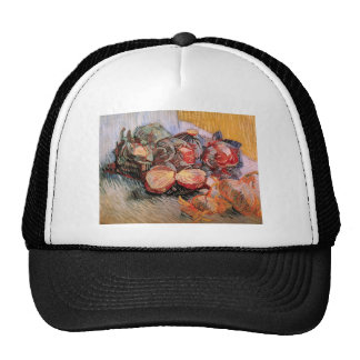Still Life with Red Cabbages and Onions - Van Gogh Trucker Hat