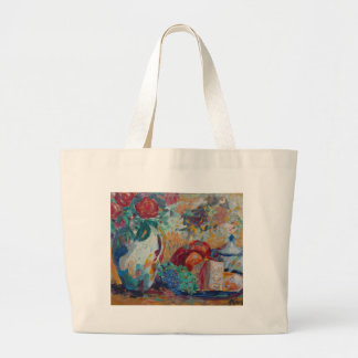 Still Life with Roses Jumbo Tote Bag