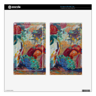 Still Life with Roses Kindle Fire Skin