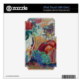 Still Life with Roses Skins For iPod Touch 4G