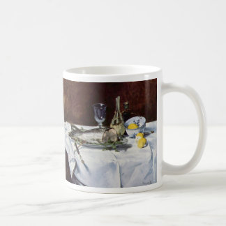 Still life with salmon - Edouard Manet Coffee Mug