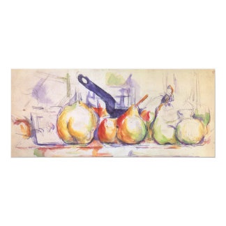 Still Life with Saucepan by Paul Cezanne Card