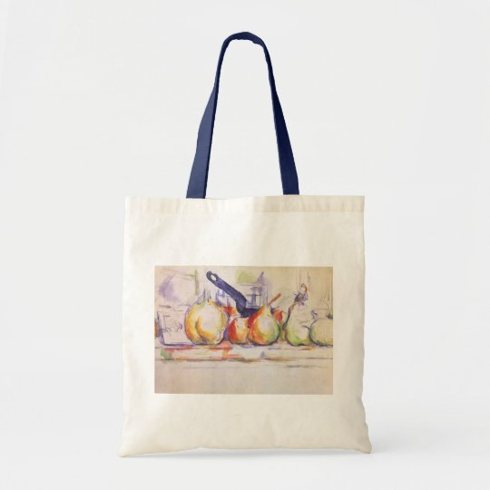 Still Life with Saucepan by Paul Cezanne Tote Bag