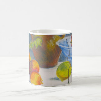 Still Life with Scattered Fruit Classic White Coffee Mug