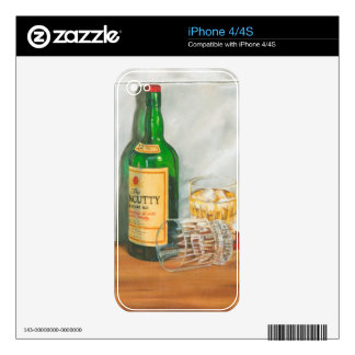 Still Life with Scotch by Jennifer Goldberger Decals For The iPhone 4S