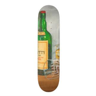 Still Life with Scotch by Jennifer Goldberger Skateboard Deck