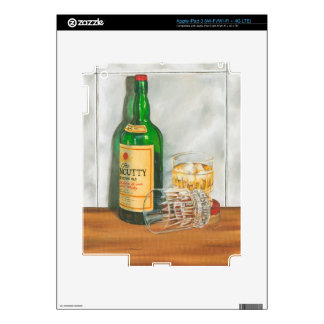 Still Life with Scotch by Jennifer Goldberger iPad 3 Skins