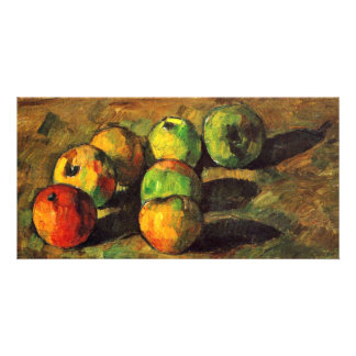 Still Life With Seven Apples By Paul Cézanne Personalized Photo Card