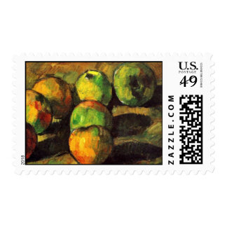 Still Life With Seven Apples By Paul Cézanne Postage Stamps