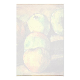 Still Life With Seven Apples By Paul Cézanne Custom Stationery