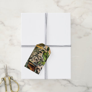 Still life with Skull After Bohumil Kubista Gift Tags