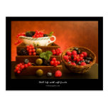 Still Life With Soft Fruits Postcard