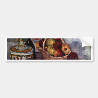 Still Life With Soup Tureen By Paul Cézanne Car Bumper Sticker