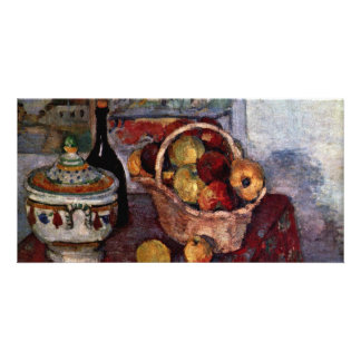 Still Life With Soup Tureen By Paul Cézanne Photo Card