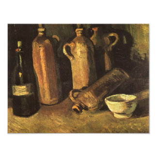 Still Life with Stone Bottles by Vincent van Gogh Card