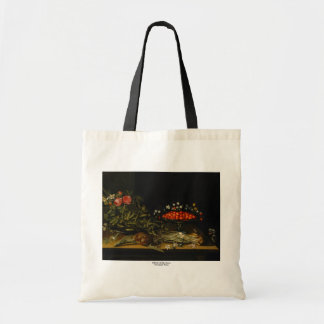 Still Life with Strawberries Tote Bag