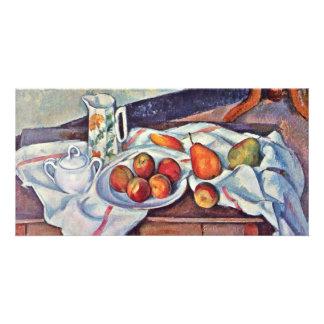 Still Life With Sugar By Paul Cézanne Customized Photo Card