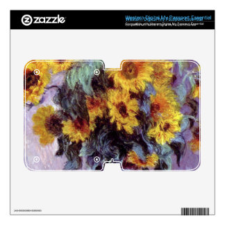 Still Life with Sunflowers by Claude Monet WD My Passport Skin