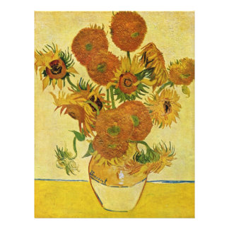 Still Life With Sunflowers By Vincent Van Gogh Flyer