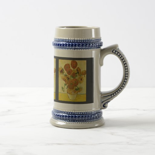 Still Life With Sunflowers By Vincent Van Gogh Coffee Mug
