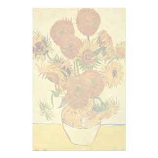 Still Life With Sunflowers By Vincent Van Gogh Stationery