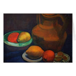 Still Life with tank by Paula Modersohn-Becker Greeting Cards