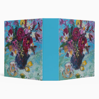 Still Life with Tea Cup 2013 3 Ring Binder