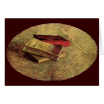 Still Life with Three Books by Vincent van Gogh Card