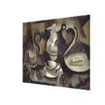 Still Life with Three Handles Stretched Canvas Print