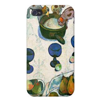 Still Life with Three Puppies, Paul Gauguin iPhone 4/4S Case