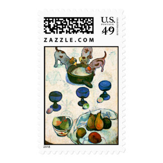 Still Life with Three Puppies, Paul Gauguin Stamps