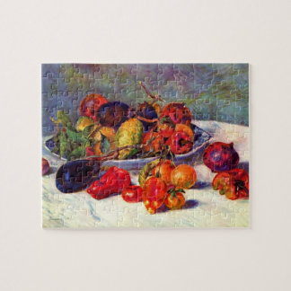 Still life with tropical fruits by Pierre Renoir Jigsaw Puzzles